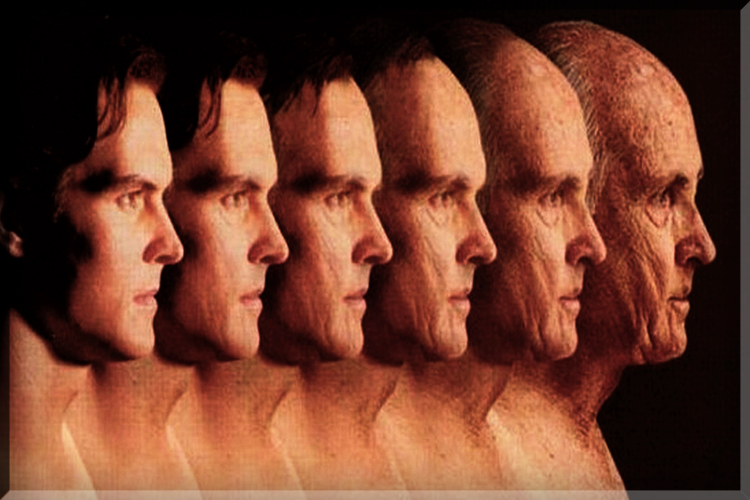 aging process face old man young older younger age getting gray guy men women mental age how girl faces look feel are wrinkled